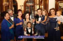 Reuniune de familie la botezul lui Iancu Marian Nicolae