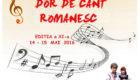 """Festivalul-Concurs pentru Tineri Interpreți """"Dor de Cânt Românesc"""""""